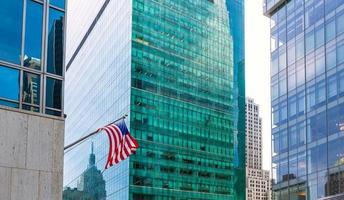 Manhattan New York City Las America 6. Av foto
