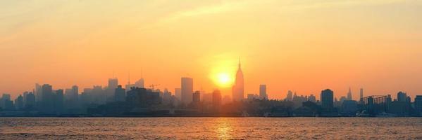 Wolkenkratzer in New York City foto