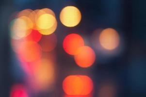 Bokeh Nyc abstrakten hellen Hintergrund