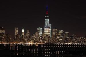 Der Freiheitsturm von New York City foto