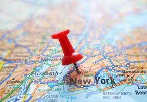 NYC Karte foto