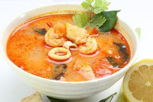 Tom Yam Suppe foto
