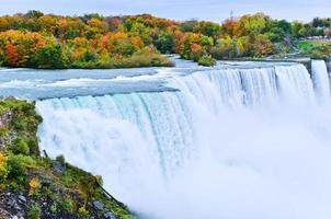 Niagara fällt im Herbst foto