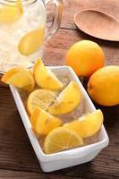 Zitronenstillleben foto