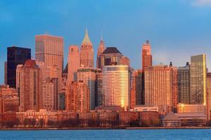 Innenstadt von Manhattan Skyline