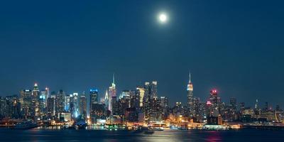 Mondaufgang Manhattan
