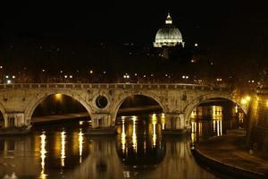 Vatikan und Ponte Sisto Bridge-Rom