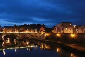 Rom in der Nacht foto
