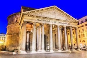 Pantheon. Rom, Italien foto