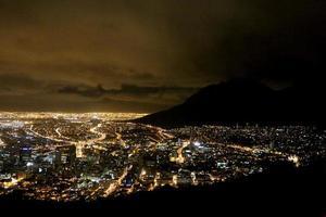 stürmische Kapstadt foto