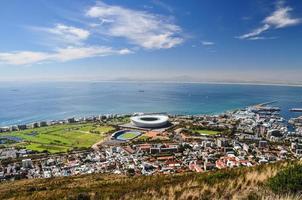 Mouille Punkt von Signal Hill - Kapstadt gesehen foto