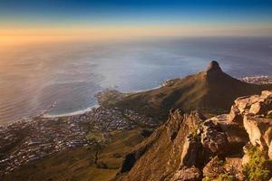 Signalhügel, Kapstadt, Südafrika foto