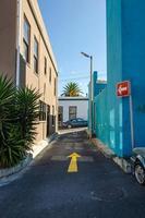 Bo Kaap, Kapstadt 102-Straße foto
