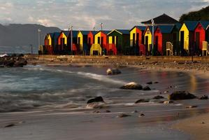 Strandkabine Farbe foto