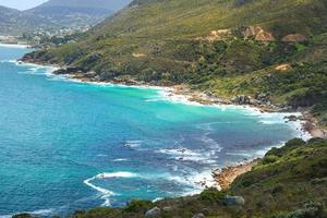 Blick auf die Bucht von Chapman von Chapmans Peak - Kapstadt foto
