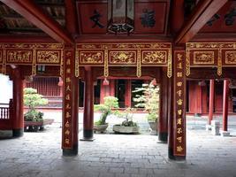 Tempel der Literatur foto