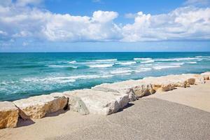 die Küste von Tel Aviv foto
