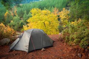 Camping Zelt foto