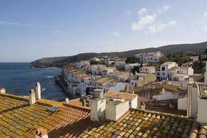 cadaques view, in der costa brava, spanien