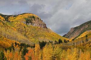 Denver Gebiet Berge im Herbst foto