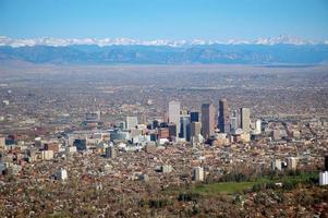Denver aus der Luft