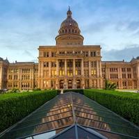 Texas State Capitol Gebäude in Austin, TX. foto