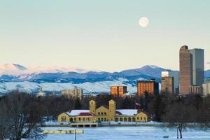 Meile hohe Stadt Denver foto
