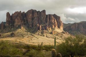 die wunderschöne landschaft der arizona wüste