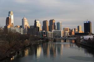 Innenstadt von Philadelphia foto