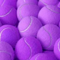 Tennisball als sportlicher Hintergrund