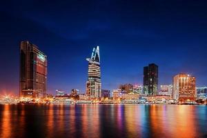 Skyline Saigon foto