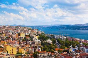 Istanbul Truthahnansicht foto