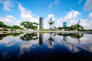Morgen in Saigon am Donnerstag foto