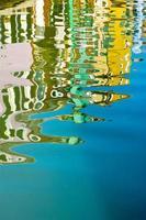 Reflexion im Wasser foto