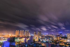 Ho Chi Minh Stadt in der Nacht