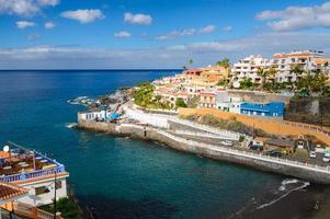 gemütlicher Ferienort Puerto de Santiago, Teneriffa foto