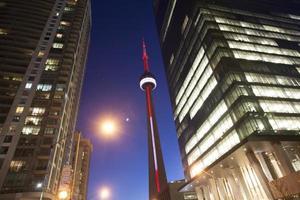 Nacht Foto Toronto Stadt