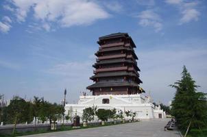 die Han-Dynastie des alten Porzellans foto