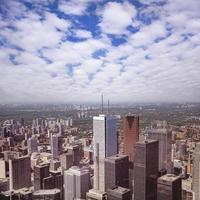 Blick auf das Stadtzentrum von Toronto.