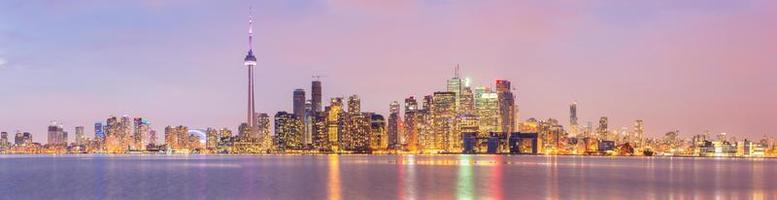Panorama der Skyline von Toronto