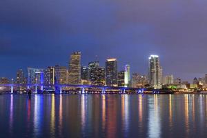 Stadt von Miami. foto