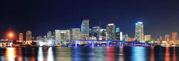 Miami Nachtszene foto