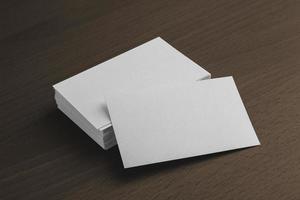 Visitenkartenpräsentation foto