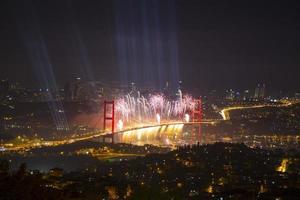 Bosporus-Brückenparty