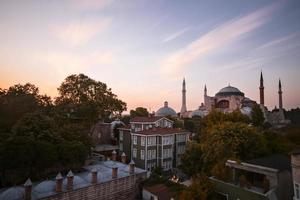 Hagia Sophia Langzeitbelichtung foto