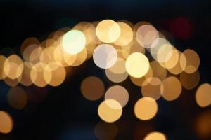 defokussierte Lichter