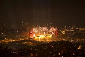 Bosporus-Brückenparty foto