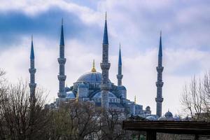 Blaue Moschee.