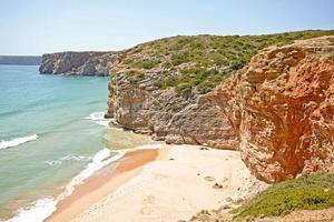 Praia do Beliche, Strand in der Nähe von Cabo Sao Vicente, Algarve Portugal
