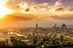 Florenz Sonnenuntergang foto